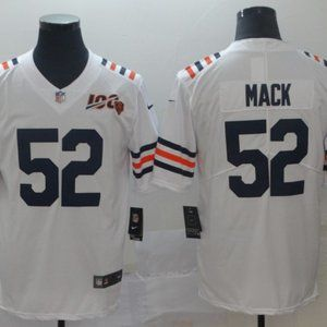 Men's Chicago Bears Khalil Mack Nike White Jersey